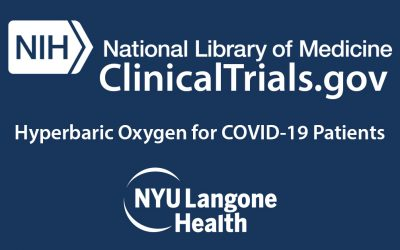 Emergency Hyperbaric Oxygen for Respiratory Distress or Failure for COVID-19 Patients