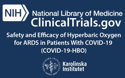 Safety and Efficacy of Hyperbaric Oxygen for ARDS in Patients With COVID-19 (COVID-19-HBO)